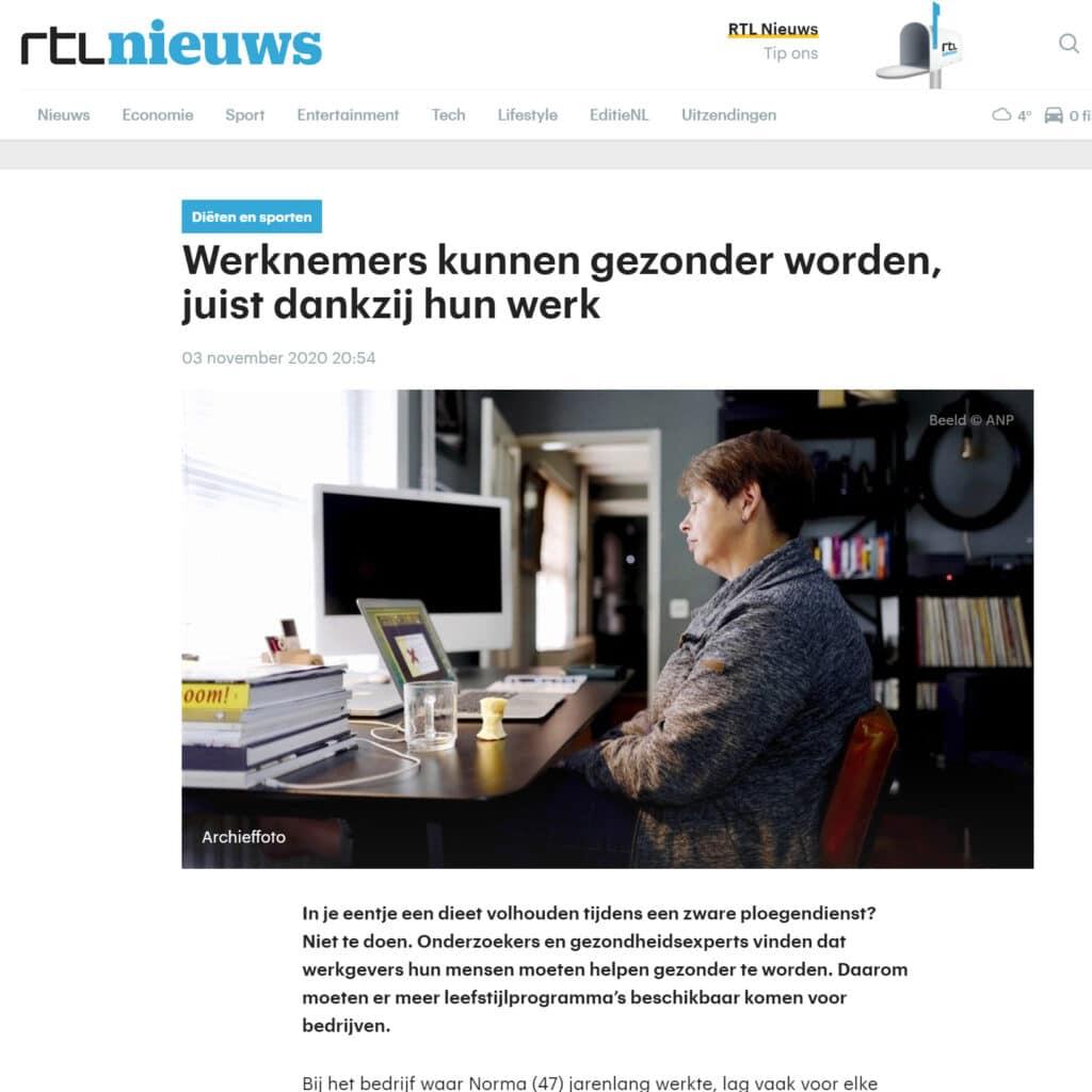 Bas Snippert bij RTL Nieuws