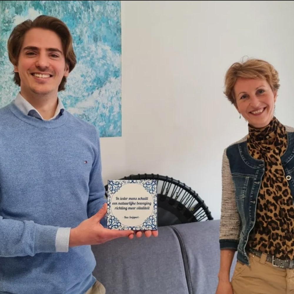 Bas Snippert bij de Positiviteitspodcast met Boukje Jongedijk