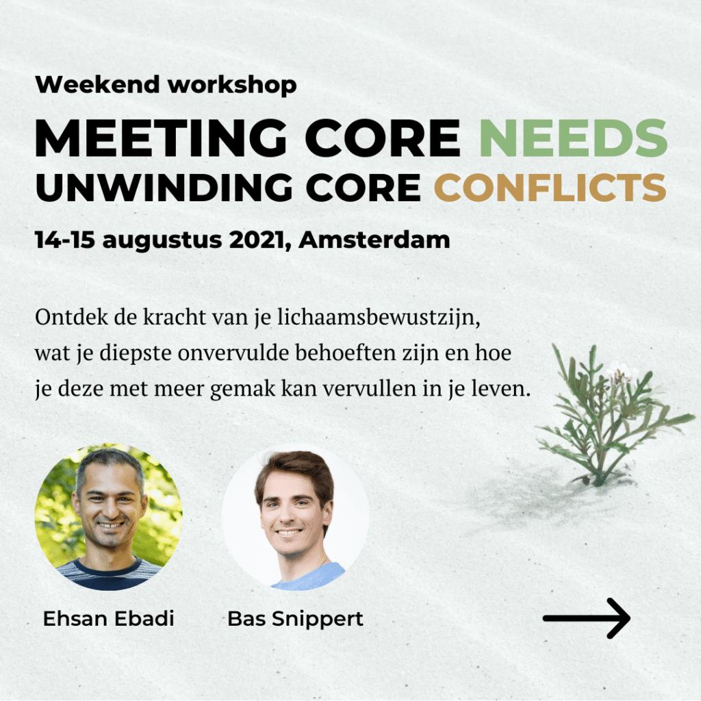 Weekend Workshop Ehsan Ebadi & Bas Snippert
