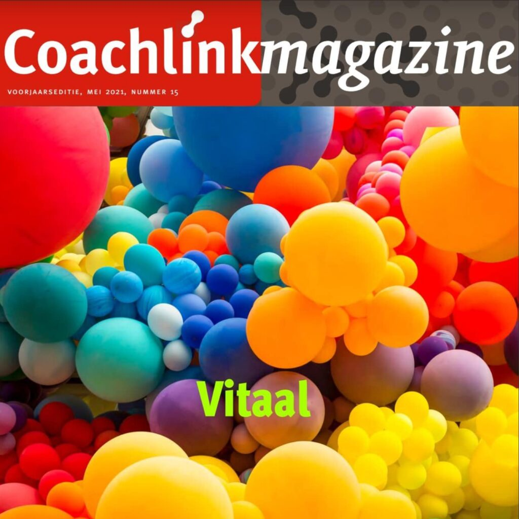 Bas Snippert in Coachlink Magazine Vitaal